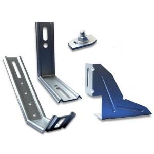 Kit de fixation pour coulissants PVC