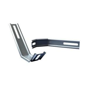 Sachet de 10 pattes de fixation réversibles fenêtres PVC et Alu iso 70 et 140