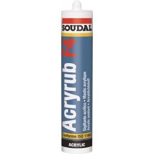 Mastic acrylique extérieur Soudal Acrylub F4