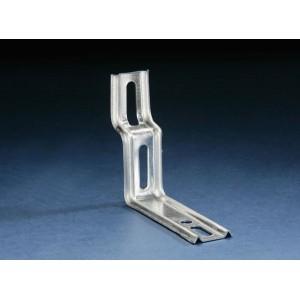 Carton de 50 pattes de fixation escalier menuiseries Alu