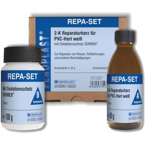 Kit de réparation pour menuiseries PVC Fenoplast Repara-Set